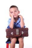 De jongen van de lage school Stock Fotografie
