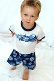 De jongen van de peuter Stock Fotografie