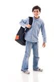 De Jongen van de school Stock Fotografie