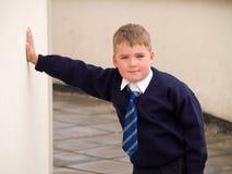 De jongen van de school Royalty-vrije Stock Afbeeldingen