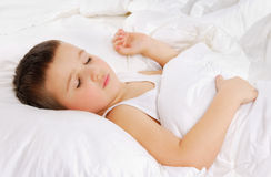 De jongen van de slaap Royalty-vrije Stock Afbeelding