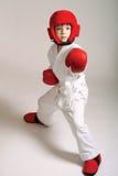 De jongen van de sportman Stock Foto