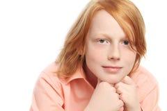 De jongen van de tiener Stock Afbeelding