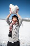 De jongen van de winter Royalty-vrije Stock Foto's