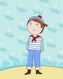 De jongen van de zeeman Stock Afbeeldingen