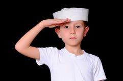 De Jongen van de zeeman stock foto's