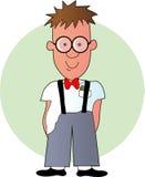 De Jongen van Geek stock illustratie