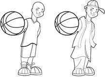 De Jongen van het basketbal Royalty-vrije Stock Afbeelding