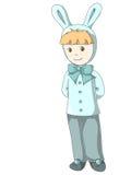 De jongen van het konijn Royalty-vrije Stock Afbeeldingen