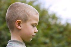 De jongen van het portret stock foto