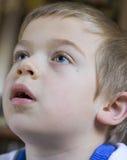 De jongen van het portret stock fotografie