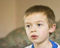 De jongen van het portret royalty-vrije stock foto's