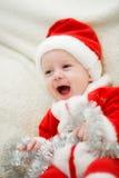 De jongen van Kerstmis Stock Fotografie