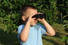 De jongen van Litlle het kijken Royalty-vrije Stock Foto's