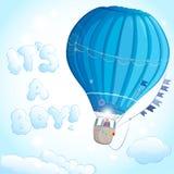 De jongen van de luchtballon stock illustratie
