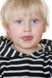 De jongen van Nice in een gestreept vest royalty-vrije stock fotografie