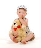De jongen van Tiredly Royalty-vrije Stock Afbeelding