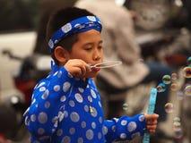 De jongen van Vietnam Royalty-vrije Stock Afbeelding