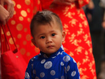 De jongen van Vietnam Stock Foto's