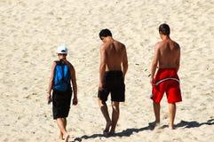 De jongens van het strand stock foto