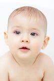 De jongen van de baby na bad Royalty-vrije Stock Afbeeldingen