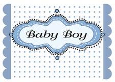 De jongensaankomst van de baby Stock Foto's