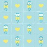 De jongensachtergrond van de baby Stock Afbeelding