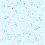 De jongensachtergrond van de baby stock illustratie