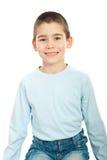 De jongensglimlach van het kind Stock Foto's