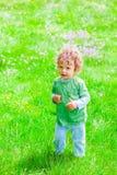 de jongensportret van de 1 éénjarigebaby Royalty-vrije Stock Afbeeldingen