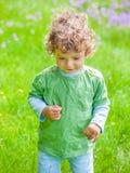 de jongensportret van de 1 éénjarigebaby Stock Afbeelding