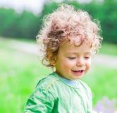 de jongensportret van de 1 éénjarigebaby Stock Afbeeldingen
