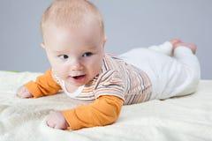 De jongensportret van de baby Royalty-vrije Stock Foto's