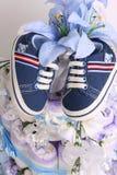 De jongensschoenen van de baby Royalty-vrije Stock Foto's