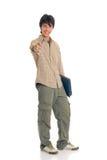 De jongensstudent van de tiener Stock Foto