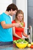 De jongeren verkiest gezond voedsel royalty-vrije stock foto