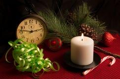 De Joyeux Noël de vacances toujours la vie Image libre de droits