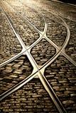 De juiste sporen Stock Foto