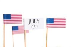 4 de julho Foto de Stock