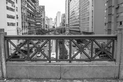 9 de Julho Avenue Lizenzfreie Stockfotos