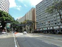 9 de Julho Avenue Fotos de archivo