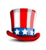 4 de julho chapéu da celebração Imagens de Stock