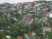 14 de julho de 2013, cidade de Baguio, na ilha de Philippines' Luzon imagem de stock