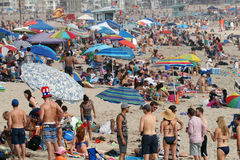4 de julho de 2015 celebrações na praia em Veneza, Califórnia Fotos de Stock Royalty Free