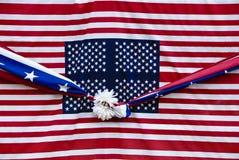 4 de julho decorações Imagens de Stock