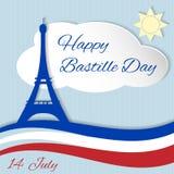 14 de julho dia de Bastille Foto de Stock