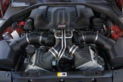 7 de julho de 2016; Kiev, Ucrânia Motor de BMW fotos de stock
