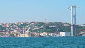 15 de julho ponte dos mártir em Istambul vídeos de arquivo