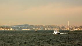 15 de julho ponte dos mártir ou ponte de Bosphorus Imagens de Stock