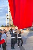 15 de julho protestos da tentativa do golpe em Istambul Fotos de Stock Royalty Free